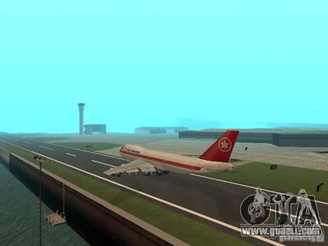 Boeing 747 Air Canada for GTA San Andreas right view