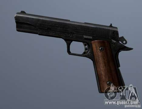M1911 for GTA San Andreas third screenshot