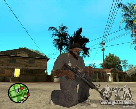 M4 Carbine for GTA San Andreas