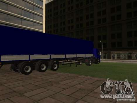 Trailer from the series truck drivers for GTA San Andreas left view
