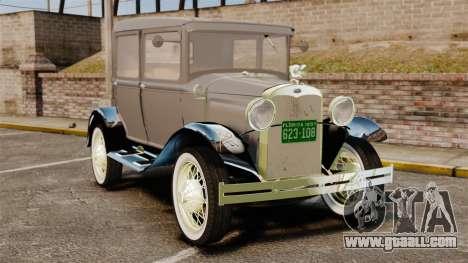 Ford Model T 1927 for GTA 4
