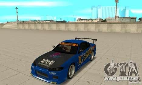 Nissan Silvia INGs +1 for GTA San Andreas