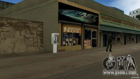 Der 2 Fast 2 Furious Shop for GTA Vice City