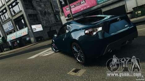 Scion FR-S for GTA 4 engine