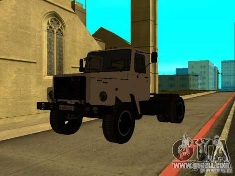 GAZ 3309 tractor for GTA San Andreas