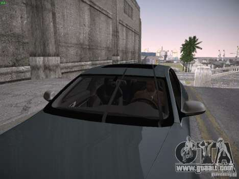 Audi RS6 2009 for GTA San Andreas back view