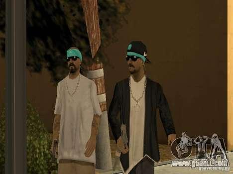 Standard models Aztecas for GTA San Andreas second screenshot