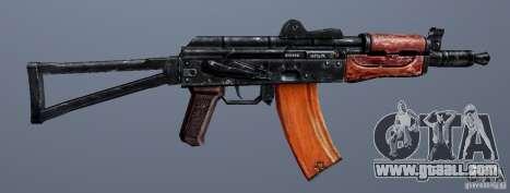 AKS74U for GTA San Andreas forth screenshot