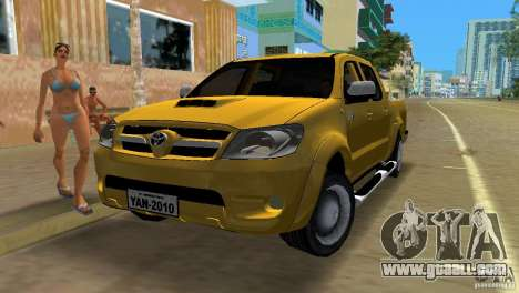Toyota Hilux SRV 4x4 for GTA Vice City