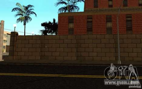 New textures for hospital in Los Santos for GTA San Andreas eighth screenshot