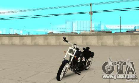 Harley Davidson FXSTBi Night Train for GTA San Andreas