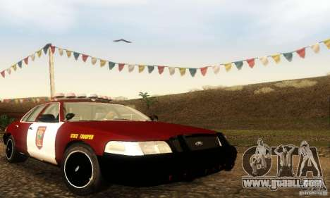Ford Crown Victoria Minnesota Police for GTA San Andreas