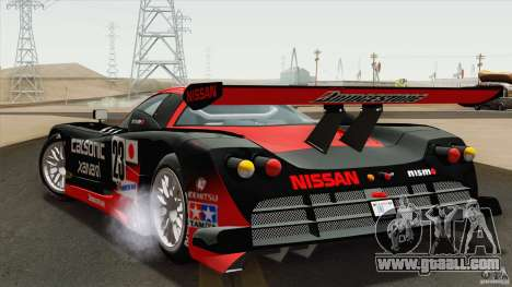 Nissan R390 GT1 1998 v1.0.1 for GTA San Andreas right view