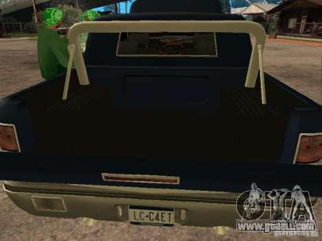HD Columb for GTA San Andreas back view