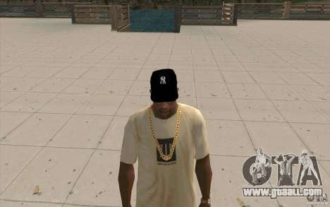 Cap newyorkyankiys black for GTA San Andreas second screenshot