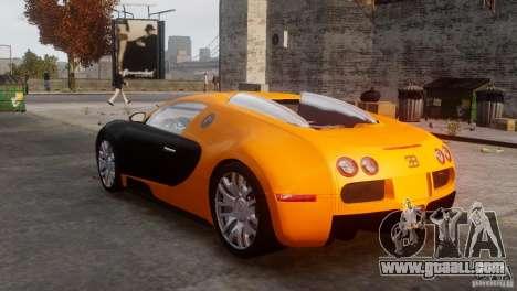 Bugatti Veyron 16.4 for GTA 4 right view