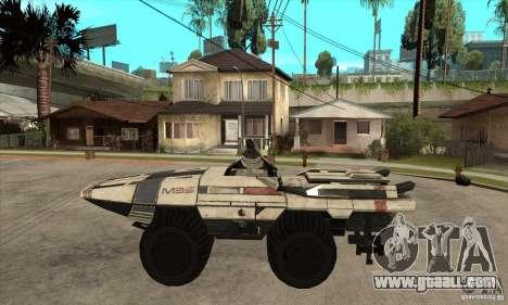 M35 Mako for GTA San Andreas left view