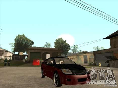 Chevrolet Cobalt ss Tuning for GTA San Andreas back view