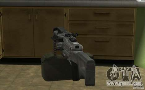 PKP Pecheneg Machine Gun for GTA San Andreas forth screenshot