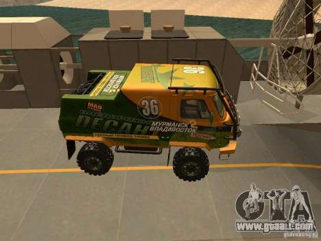 UAZ 2206 Expedition for GTA San Andreas back view