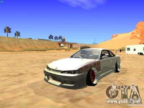 Nissan Silvia S14 JDM for GTA San Andreas