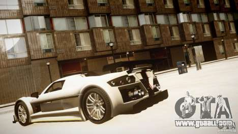 Gumpert Apollo Sport KCS Special Edition v1.1 for GTA 4 right view