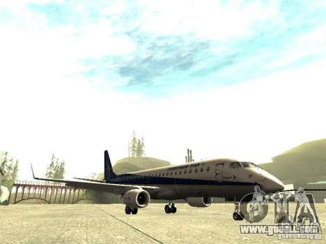 Embraer E-190 for GTA San Andreas left view