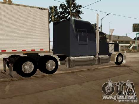 Western Star 4900 Aust for GTA San Andreas back left view