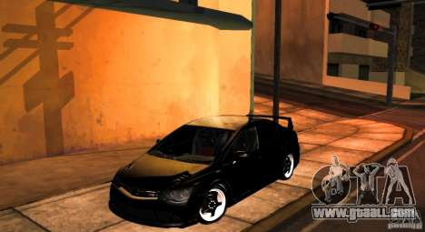 Honda Civic JDM for GTA San Andreas back view