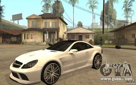 Mercedes-Benz SL65 AMG BS for GTA San Andreas