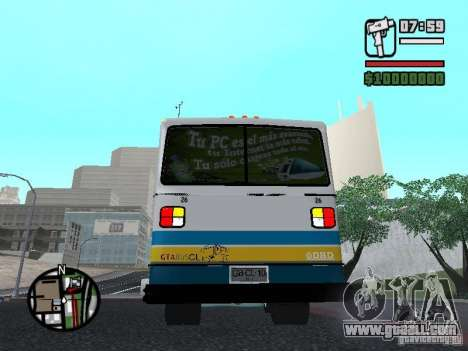Cuatro Ases M.Benz LO608D for GTA San Andreas right view