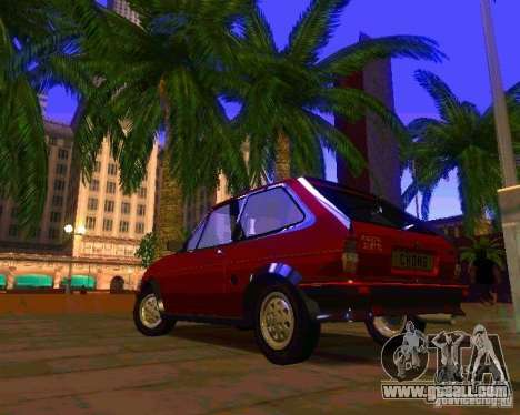 Ford Fiesta XR2 Mk2 1984 for GTA San Andreas right view