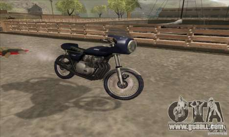 Kawasaki KZ1000 for GTA San Andreas right view