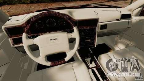 Volvo 850 Wagon 1997 for GTA 4 back view