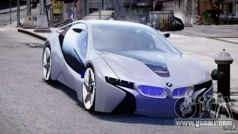 BMW Vision Efficient Dynamics v1.1 for GTA 4 back view
