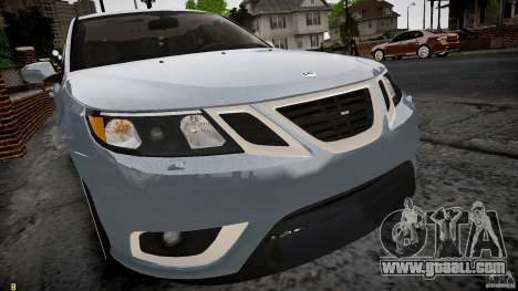 Saab 9-3 Aero X FINAL for GTA 4 back left view