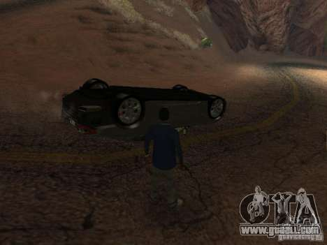 Overturned cars don't burn for GTA San Andreas forth screenshot