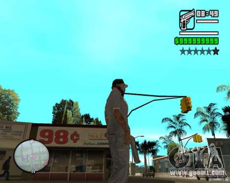 Change Hud Colors for GTA San Andreas eighth screenshot