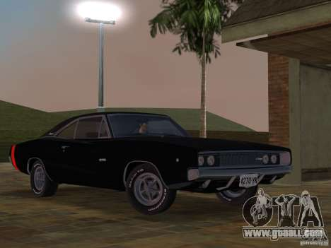 Dodge Charger 426 R/T 1968 v2.0 for GTA Vice City