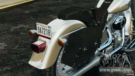 Harley Davidson Softail Fat Boy 2013 v1.0 for GTA 4 interior