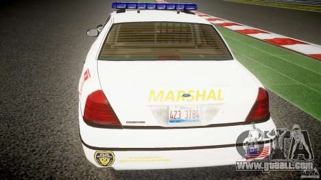 Ford Crown Victoria US Marshal for GTA 4 interior