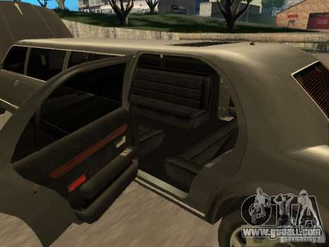 HD Stretch for GTA San Andreas inner view