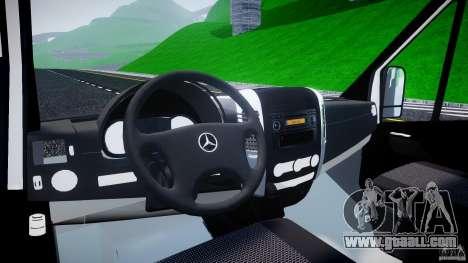 Mercedes-Benz Sprinter Euro 2012 for GTA 4 right view