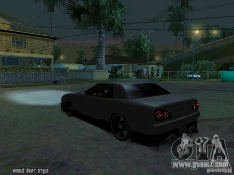 ELEGY BY CREDDY for GTA San Andreas left view