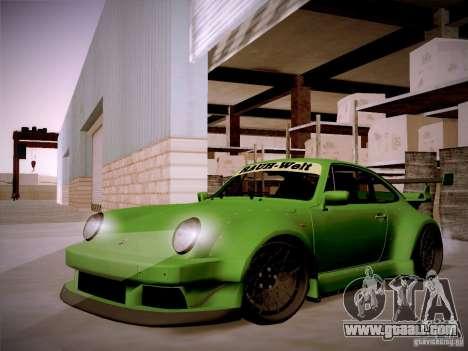 Porsche 911 Turbo RWB Pandora One for GTA San Andreas