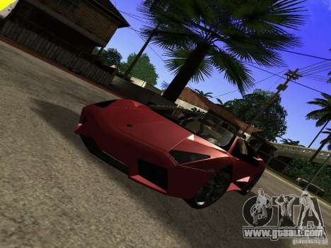 Lamborghini Reventon Roadster for GTA San Andreas right view