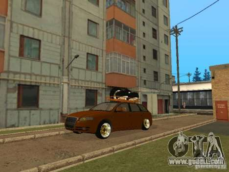 Audi A4 Avant 2005 JDM Style for GTA San Andreas