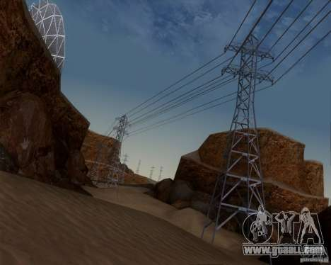 HQ Country N2 Desert for GTA San Andreas fifth screenshot