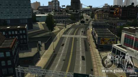 Empty city for GTA 4 second screenshot