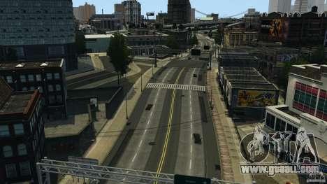 Empty city for GTA 4 second screenshot